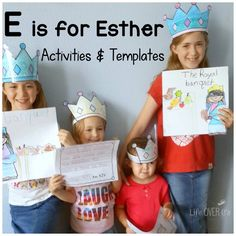 E is for Esther. This looks good for littler ones.