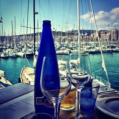 Amazing 🌴☀️🍾 ⛵️ #lunch #palma #spain #weekendtrip #elnautico #break #cilletravels