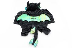 Shepher Pet Costumes Soft Plush Cotton Jacket for Small Puppy Dogs Flying Dragon Cosplay Coat > Startling review available here  : Costumes for dog