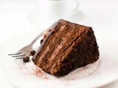 Torta de chocolate y café en elgourmet