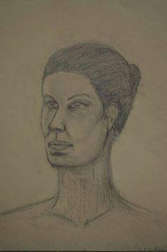 Portrét - kresba tužkou