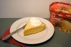 Three-Ingredient Pumpkin Pie Recipe: Save time with this easy-to-make ice cream dessert idea -- a refreshing twist on traditional pumpkin pie.