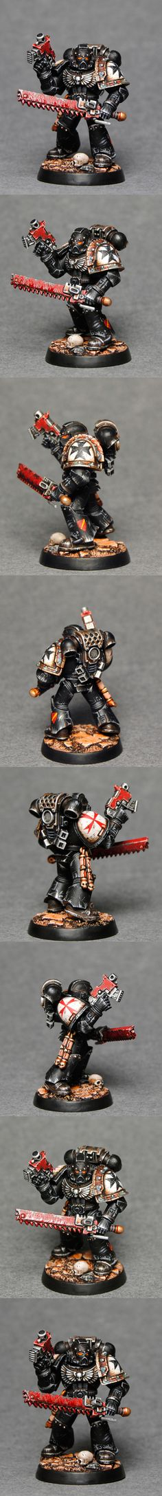 Black Templar Crusader - Totem Pole