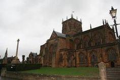 Sherborne Abbey- burial place of thomas wyatt