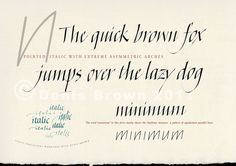 Calligraphy Practice Sheets | Free sample calligraphy worksheet