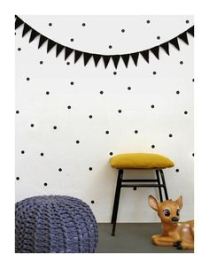 Black dot wall decals wall stickers wall decor by tayostudio, $12.00