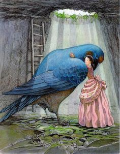 """Susan Jeffers' Illustrations for """"Thumbelina"""" - Book Artists and Their Illustrations - Quora"""