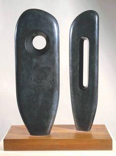 Two Figures (1964) - Barbara Hepworth