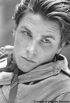 Christian Bale. Only in his younger Newsies days. Sadly, he is unattractive to me now.