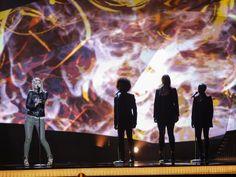 Amandine Bourgeois performing 'L'enfer Et Moi' for France