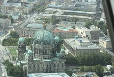 View of the Dom from the TV tower - Polish Housewife: Berlin
