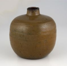 Ship style sake bottle,  Philadelphia Museum of Art Date: 18th century  Medium: Ceramic (Takatori ware)  Dimensions: 5 1/16 x 4 15/16 inches (12.8 x 12.5 cm)