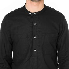 Engineered Garments Banded Collar Long Shirt - Cotton Linen Hankerchief Banded Collar Shirts, Engineered Garments, Cotton Linen, Mood, Sweaters, Mens Tops, Shopping, Fashion, Cotton Sheets