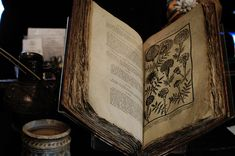 Dr Halls Book of Medicine at Hall's Croft by carinabrownphotography at flickr.