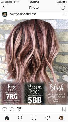 Luxury Irish Cream Hair Color
