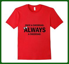 Mens Once A Cheer Dad, Always A Cheer Dad 3XL Red - Relatives and family shirts (*Amazon Partner-Link)