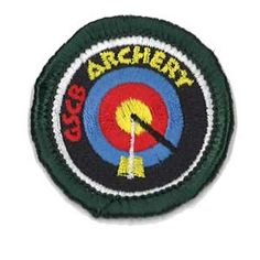 GSCB Archery Junior BadgeGSCB's own badge for Girl Scout Juniors to learn the basics of archery. Earning this badge is a fun way for Girl Scouts to develop a steady hand, a good eye and a disciplined mind. By completing this badge girls will have a basic understanding of archery safety, parts of the bow and arrows and scoring. Requirements can be found at: Archery Junior Badge.pdf