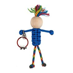 Autism Awareness key chain  Autism support gift   paracord