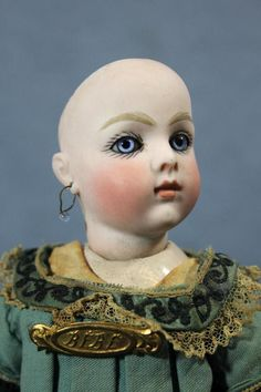"""Antique 9"""" Bru BEBE Sold for $18,800.00  March 2013 eBay -  Click on listing and scroll way down for more images/info."""
