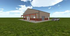Cool 3D #marketing http://ift.tt/2rQsVfw #barn #workshop #greenhouse #garage #roofing #DIY