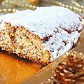 Stollen { gâteau de noël traditionnel allemand }