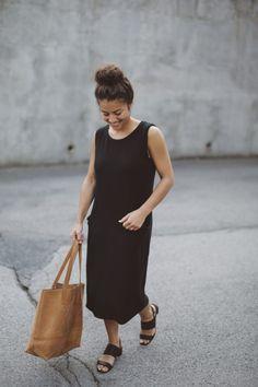 black pocket dress | Moriah Murrell | Personal Style Blog | Bloglovin'