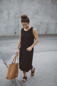 black pocket dress | Moriah Murrell | Personal Style Blog | Bloglovin'