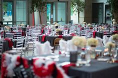Kahn's Catering had the pleasure providing the food and beverage and event management for this stunning wedding reception. - See more at: http://indyweddingvenues.com/ism-wedding-erica-carlos/nggallery/page/2#/
