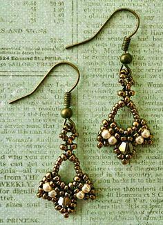 Linda's Crafty Inspirations: Tiny Treasures Earrings Update