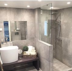 Essential Home is the epitome of bohemian design. Bathtubs For Small Bathrooms, Amazing Bathrooms, Bedroom Decorating Tips, Interior Decorating, Contemporary Lamps, Luxury Lighting, Basement Bathroom, Modern Bathroom, Bathroom Ideas