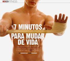 Revista Mensch: FITNESS: Um treino de 7 minutos para fazer em casa e mudar de vida