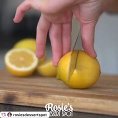 How to make amazing cake decorating- lemon 🍋 slices Candied Lemon Slices, Candied Lemons, Cake Decorating Techniques, Cake Decorating Tutorials, Easy Desserts, Delicious Desserts, Beste Cocktails, Cake Recipes, Dessert Recipes
