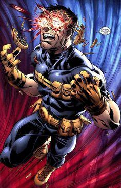 Marvel: X-Men. Cyclops: It's over! Comic Book Characters, Comic Book Heroes, Marvel Characters, Comic Character, Comic Books Art, Wolverine Character, Comic Art, Marvel Comics Art, Marvel Heroes