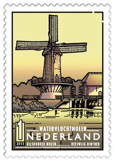 Kilsdonkse Mill in Heeswijk-Dinther (Noord-Brabant) , (Dutch Windmills) . Drivers License Pictures, Country Names, Interesting Buildings, Le Moulin, Day For Night, Windmill, Postage Stamps, Belgium, Netherlands