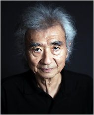 Seiji Ozawa...a Japanese conductor, particularly noted for his interpretations of large-scale late Romantic works. He is most known for his work as music director of the Boston Symphony Orchestra and principal conductor of the Vienna State Opera.