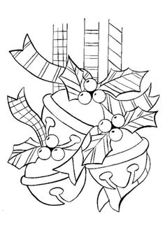 XMAS COLORING PAGES Make your world more colorful with free printable coloring pages from italks. Our free coloring pages for adults and kids. Christmas Bells, Christmas Colors, Christmas Art, Christmas Classics, Christmas Napkins, Crochet Christmas, Father Christmas, Christmas Angels, Christmas Coloring Sheets