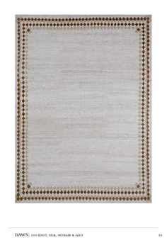 Holland & Sherry's  Symbolist Rug Collection by Doug & Gene Meyer - hand knotted mohair