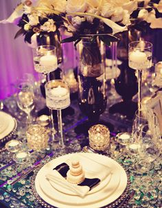 54 Enchanting Wedding Centerpiece Ideas. To see more: http://www.modwedding.com/2014/01/20/get-inspired-54-enchanting-wedding-centerpiece-ideas/ #wedding #weddings #centerpieces #flowers #receptions