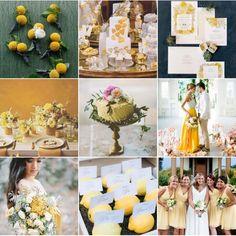 Alle Zeichen stehen auf Gelb: Ein frischer Touch für eure Hochzeit! Fotos: www.instagram.com/wonderwed.de