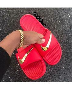 new arrival a0d2f 7040a 126 1889101850 Nike Sandals, Lit Shoes, Jordan Heels, Nike Flip Flops,  Dream Shoes