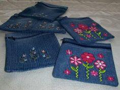 Annelis hantverk: Jeansbörsar