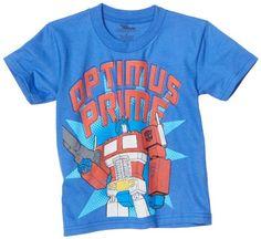 Transformers Boys 2-7 Optimus Prime Tee