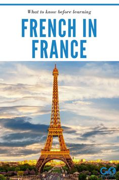 French is one of the world's most beautiful languages -- where better to learn French than in France? Learn what to know before you launch on your French language learning journey in France. Learning French, French Language Learning, Europe Destinations, Europe Travel Tips, Study Abroad Packing, Learn To Speak French, France Europe, Travel Couple, Travel Photography