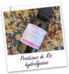Actif cosmétique Protéines de Riz Boutique Aroma-Zone