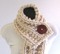 Super Chunky Winter Knit Cowl Scarf ($39)