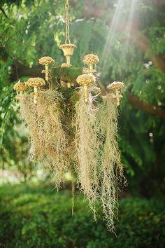 Dreamy Floral + Moss Wedding Ideas | Hawaii Wedding Flowers + Fashion