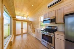 ESCAPE ONE XL: Beautiful 30' Zen Tiny House on Wheels