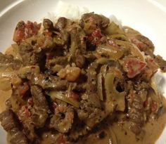 Your Inspiration at Home Beef Stroganoff. #YIAH #stroganoff