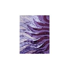 LA Rug Dimension Shaggy Rectangular Purple Area Rug ($198) ❤ liked on Polyvore featuring home, rugs, rectangular area rugs, rectangle rugs, plush shag rug, shag rugs and purple rug