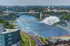 Niagara Falls and Rainbow Bridge   Flickr: Intercambio de fotos